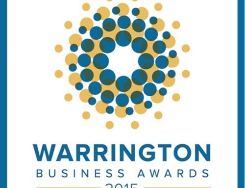 Footprint and Golden Gates Housing Trust winners at Warrington Business Awards 2015
