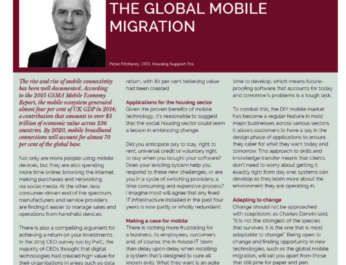 TAKING ADVANTAGE OF THE GLOBAL MOBILE MIGRATION