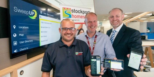 Stockport Homes Sweep Up 2018